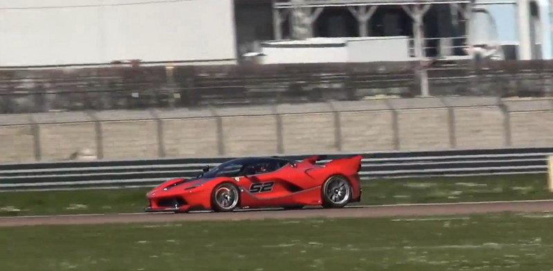 Ferrari FXX K Makes Some Music At Fiorano Circuit: Video