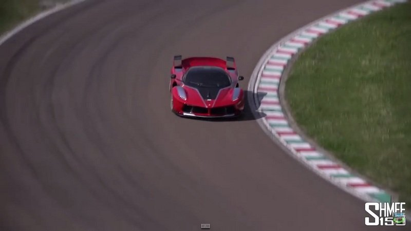 Ferrari FXX K Tested On Fiorano: Video