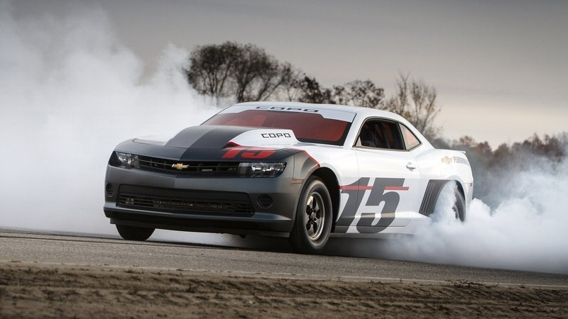 First 2015 COPO Camaro Will Be Auctioned For Charity