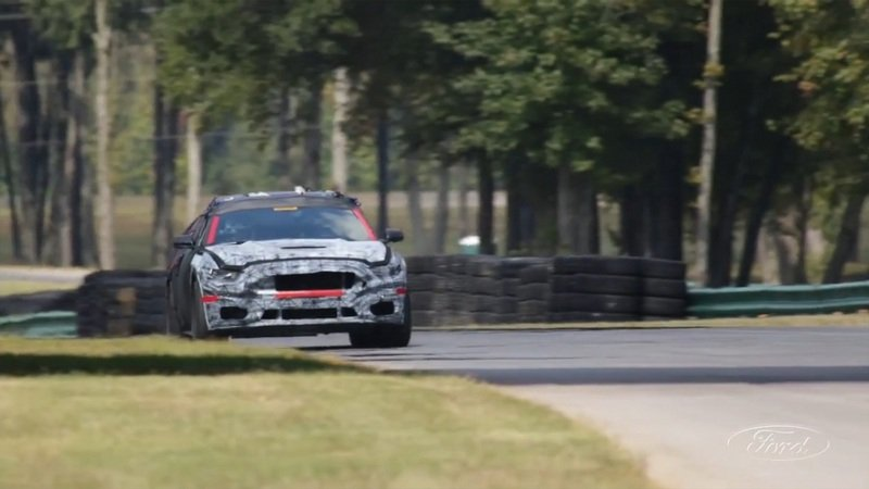 Ford Mustang​ Shelby GT350 Tested At VIR: Video