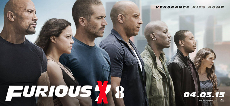 Furious 8 Will Be Released On April 14, 2017