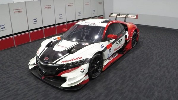 Honda Nsx Concept Gt Transformed In Less Than One Minute