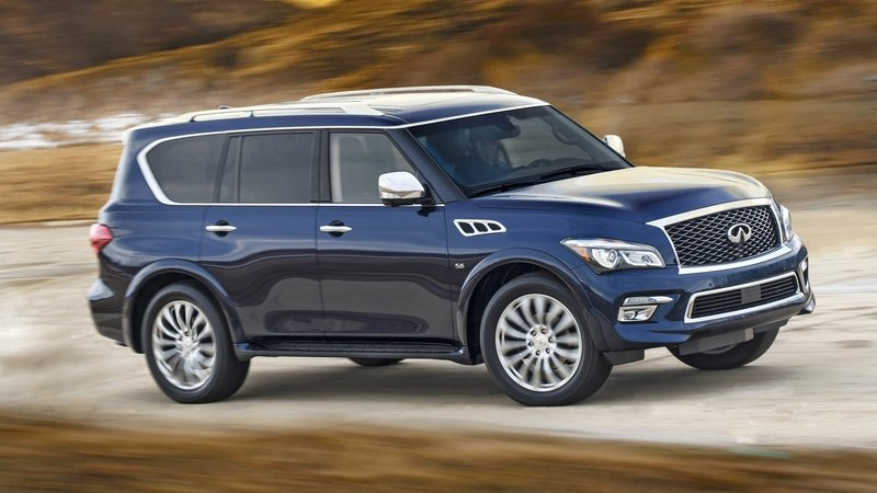 Infiniti Plans SUV Above The QX80