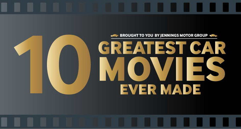 "Infographic: ""10 Greatest Car Movies Ever Made"""