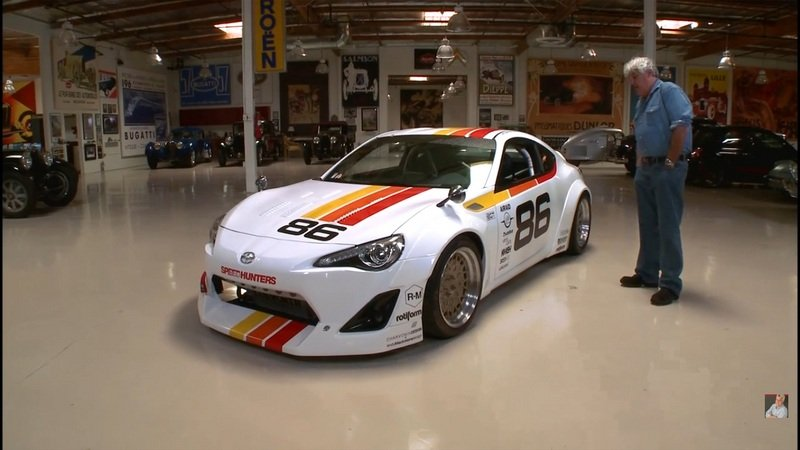 Jay Leno Reviews Speedhunters Scion Tuner Challenge FR-S: Video