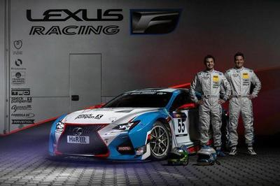 Lexus RC F GT3 To Race At 24 Hours of Nurburgring