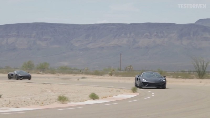 McLaren 570S Driving Shots: Video