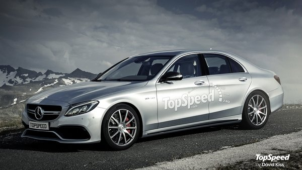 Mercedes E-Class @ Top Speed