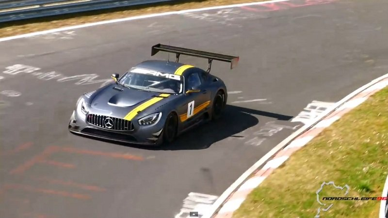 Mercedes-AMG GT3 Makes Some Noise At Nurburgring: Video