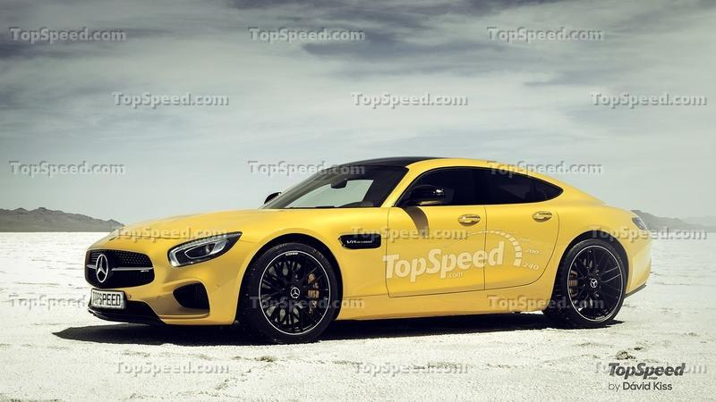 Porsche Should Be Worried About Mercedes-AMG's GT4 Concept