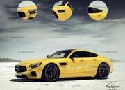 Leaked! Mercedes-AMG GT4 Revealed Ahead Of Geneva Debut - image 628675