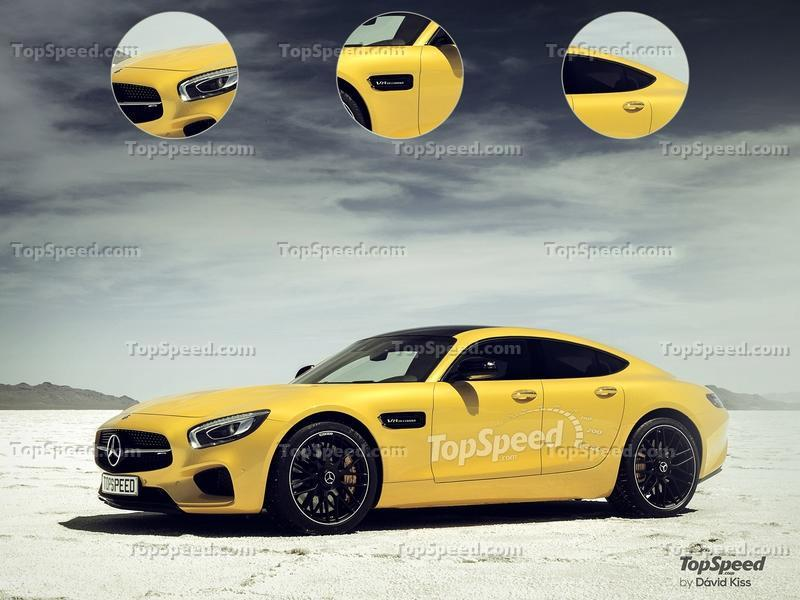 2019 Mercedes-AMG GT 4-Door Coupe Exterior Exclusive Renderings Computer Renderings and Photoshop - image 628675
