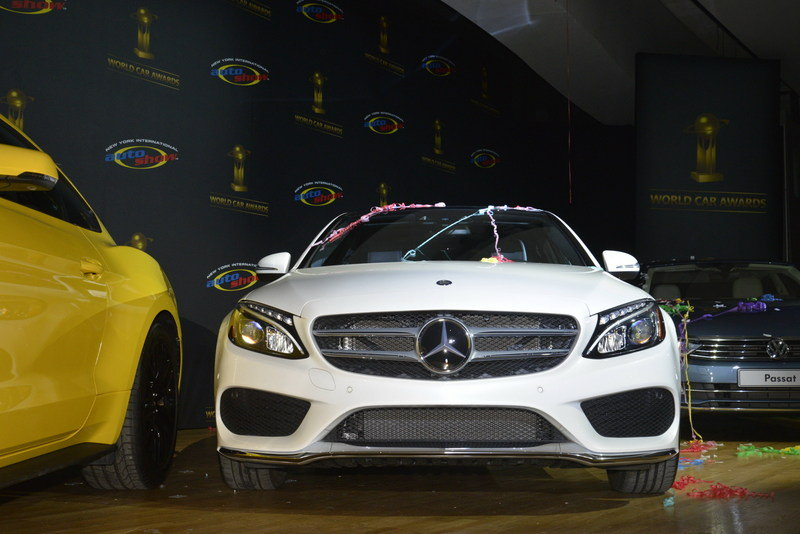 Mercedes-Benz C-Class Named 'World Car of the Year' In New York