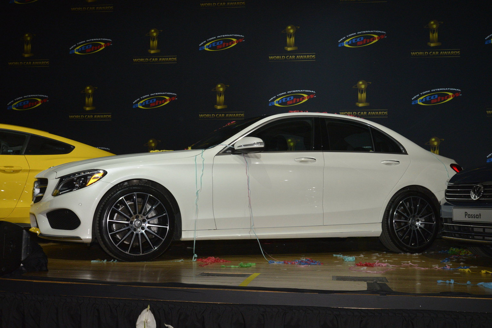 Mercedes Benz C Class Named World Car Of The Year 39 In New