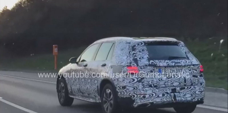 Mercedes-Benz GLC Spied On the Road: Video