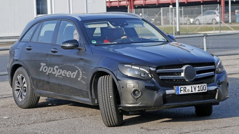Mercedes GLC Drops Camouflage; Debuts June 17: Spy Shots