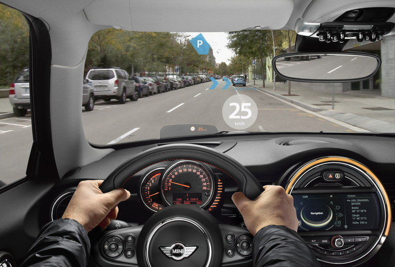 Mini Reveals Augmented Vision