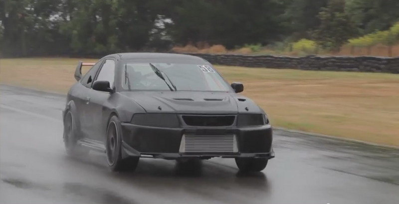 Mitsubishi Evo Coupe Track Car Is Better Than Any Race Car: Video
