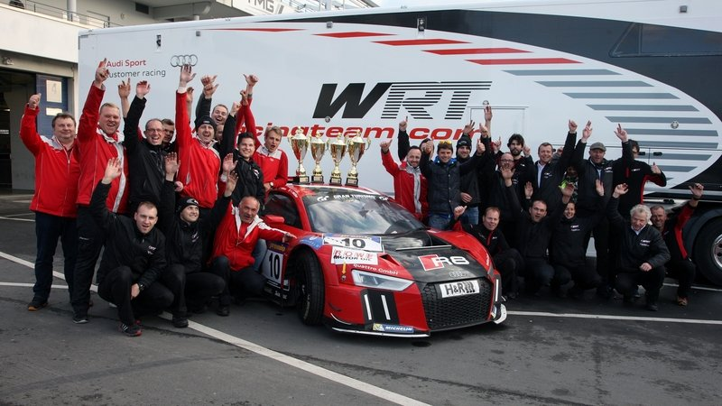 New Audi R8 LMS Scores Its First Victory At Nurburgring