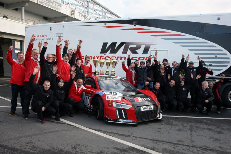 New Audi R8 LMS Scores Its First Victory At Nurburgring - image 628620