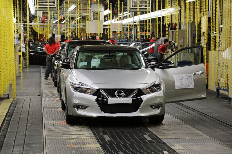 New Nissan Maxima Goes Into Production - image 627784