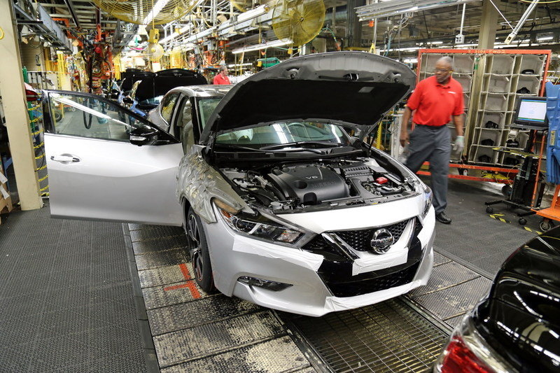 New Nissan Maxima Goes Into Production - image 627785
