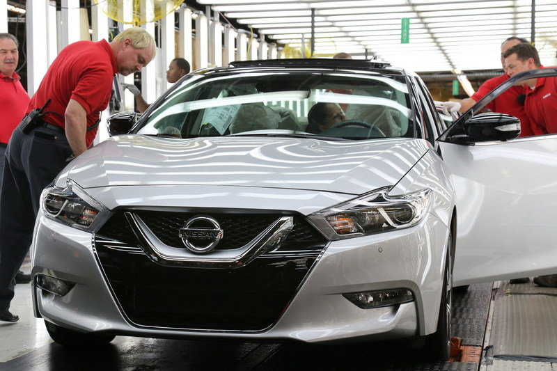 New Nissan Maxima Goes Into Production - image 627783
