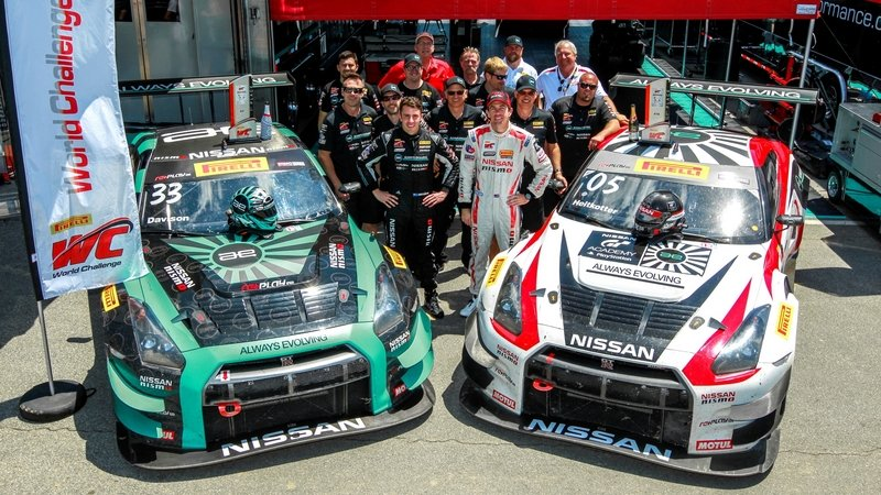 Nissan GT-R GT3 Scores First Victory At Pirelli World Challenge