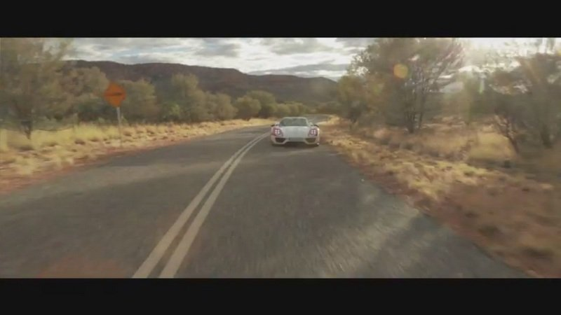 Porsche 918 Drives The Australian Outback: Video