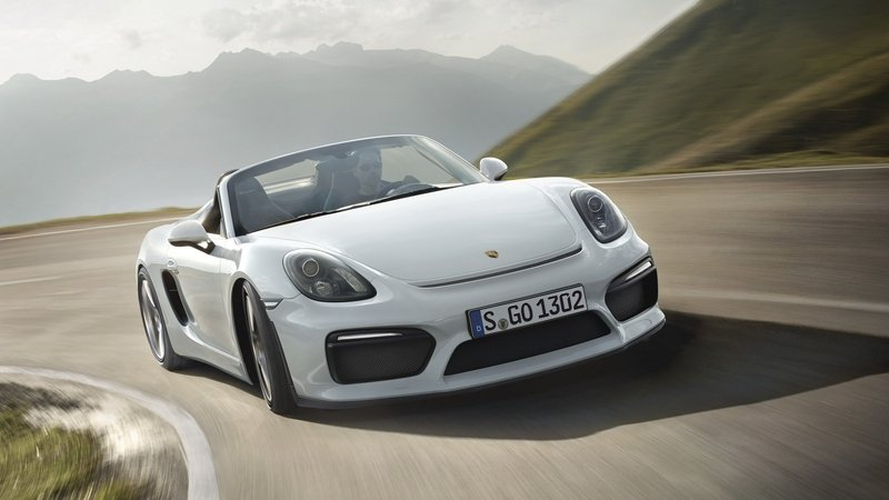 Porsche Could Offer Boxster Spyder GT4