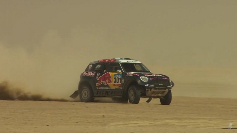 Raphael Orlove Drives Dakar-Winning Mini In The Desert: Video