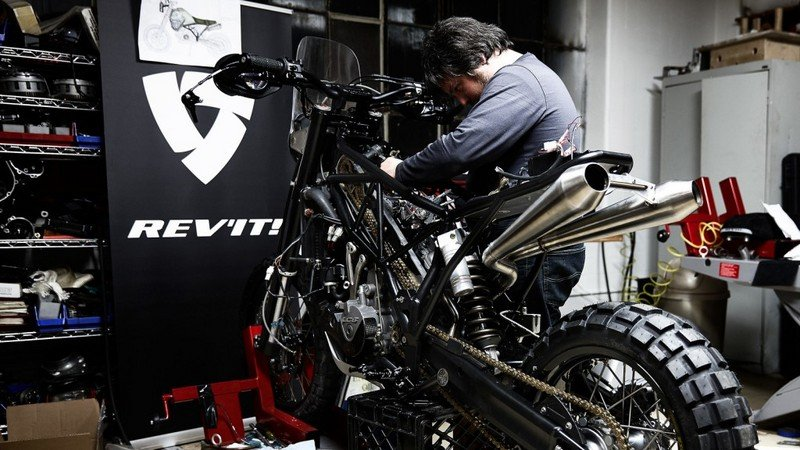 Rev'It Celebrates 20 Years With Special Edition Bike