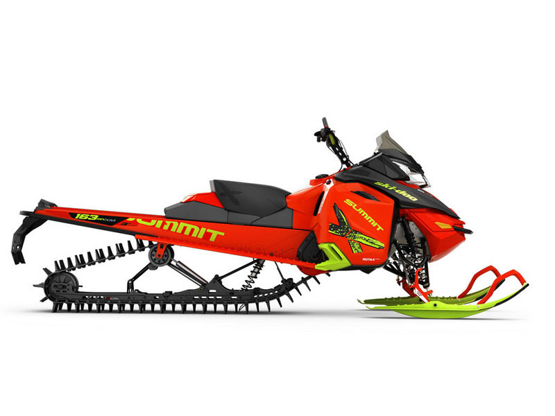2016 Ski-Doo Summit X with T3 Package
