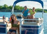 2015 Sun Tracker Party Barge 16 DLX - image 627362