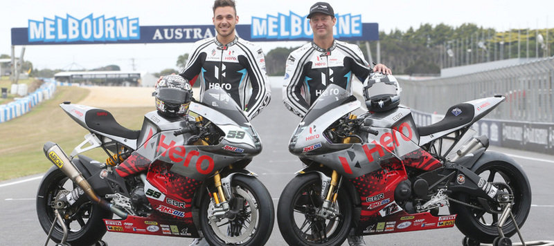 Team Hero EBR To Continue Racing At The WSBK Despite Erik Buell Racing's Closure