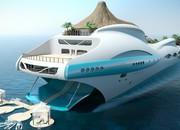 Yacht Island Design Introduces Incredible Island-On-A-Yacht Concept - image 628261