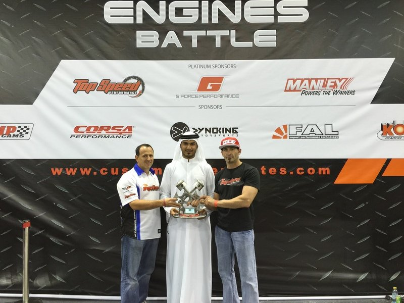 USA Wins SEMA Middle East's 1st Annual Engine Build-Off