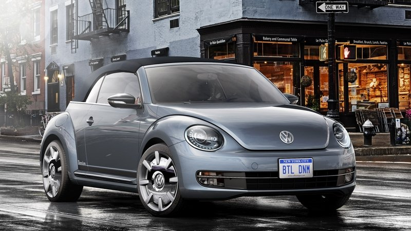 2015 Volkswagen Beetle Convertible Denim Concept