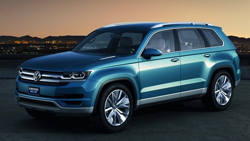 Volkswagen Plans Lineup Of Five SUV For The US