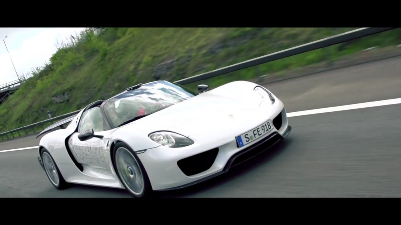 1000 km roadtrip in the porsche 918 spyder video. Black Bedroom Furniture Sets. Home Design Ideas