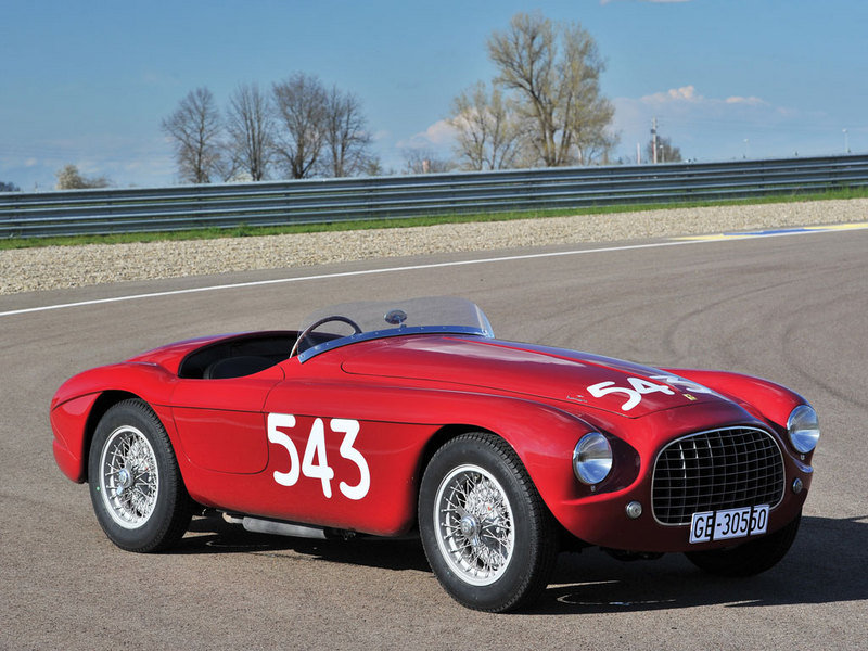 1952 Ferrari 212 Export Barchetta Auctioned For About $7.5 Million Exterior - image 631651
