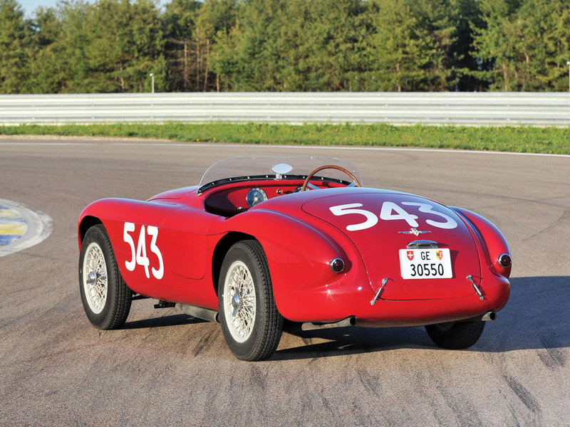 1952 Ferrari 212 Export Barchetta Auctioned For About $7.5 Million Exterior - image 631652