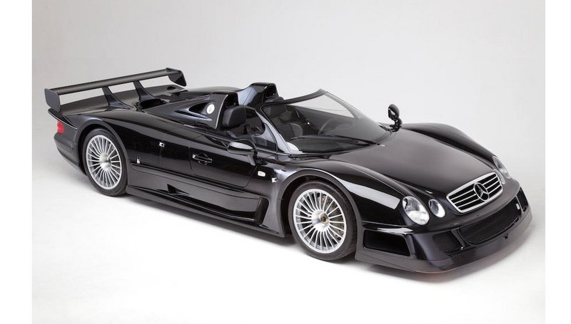 1999 Mercedes-Benz CLK GTR Roadster Will Be Auctioned In June