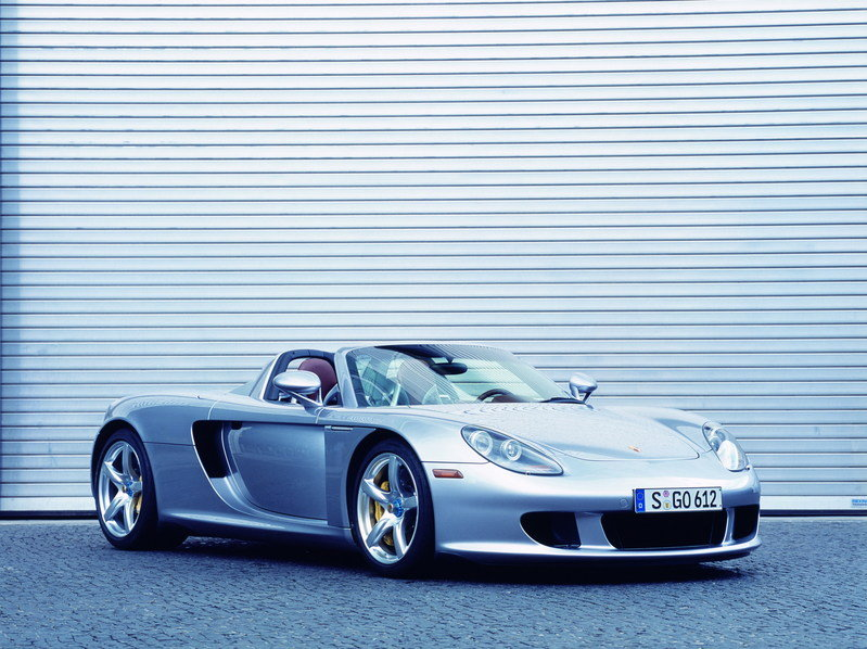 2004 - 2007 Porsche Carrera GT High Resolution Exterior - image 630983