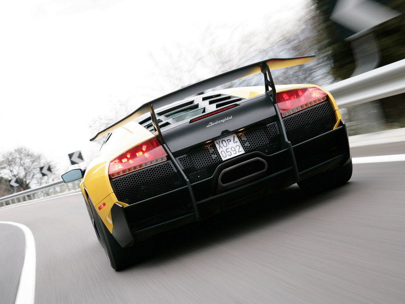 2009 - 2010 Lamborghini Murcielago LP 670-4 SuperVeloce High Resolution Exterior - image 631861