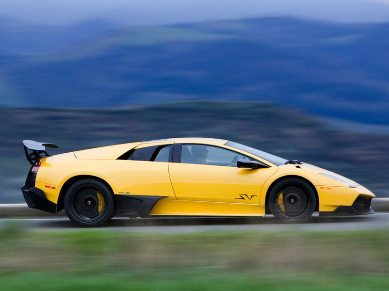 2009 - 2010 Lamborghini Murcielago LP 670-4 SuperVeloce High Resolution Exterior - image 631862