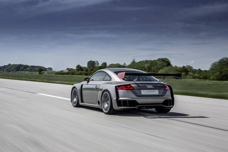 2015 Audi TT Clubsport Turbo Technology Concept
