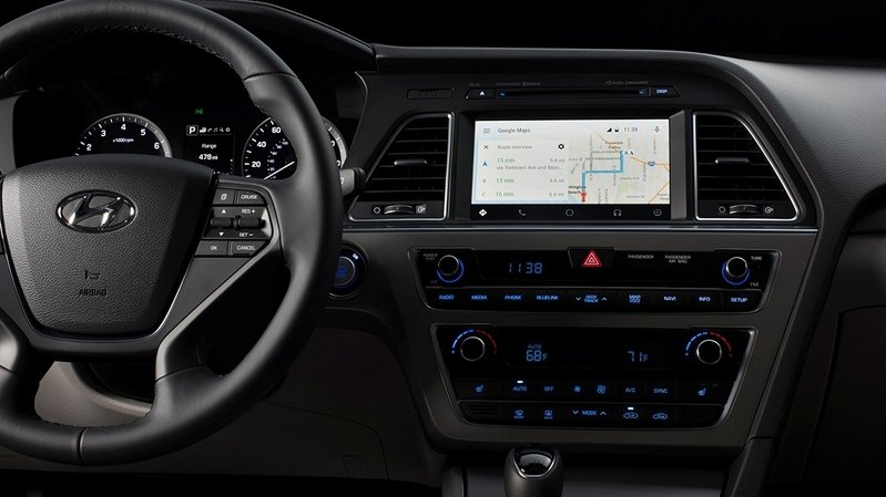 2015 Hyundai Sonata Is The First To Offer Android Auto