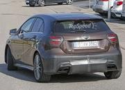 Mercedes A45 AMG Testing In Germany: Spy Shots - image 631763