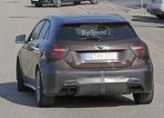 Mercedes A45 AMG Testing In Germany: Spy Shots - image 631755